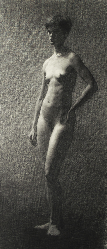 Gustav Wibell Kähr, Figure drawing (4th trimester)