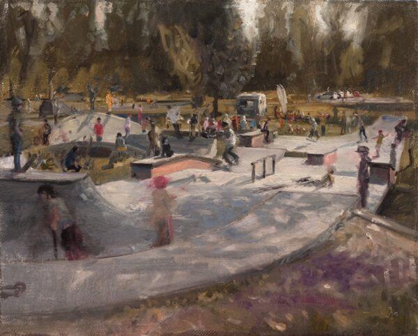 Zacheriah Kramer, Our skatepark